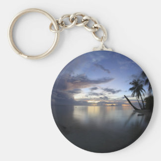 Mystical Bora Bora.JPG Basic Round Button Keychain
