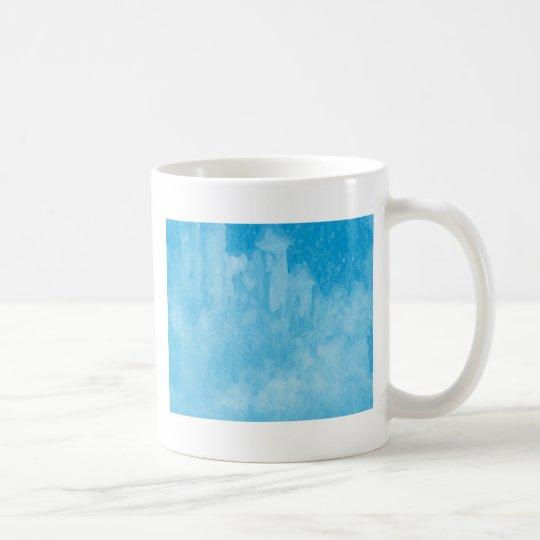 Mystical Castle Baby Blue Snowy Night Coffee Mug