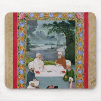 Mystical conversation between Sufic sheikhs Mouse Pad