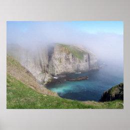 Mystical Cove Poster print
