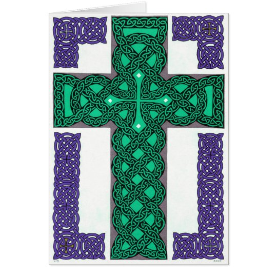 Mystical Cross card
