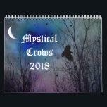 "Mystical Crows 2018 Calendar<br><div class=""desc"">A collection of my surreal,  mystical crow images.</div>"