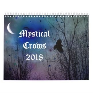 Mystical Crows 2018 Calendar