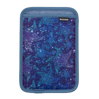 Mystical Deep blue starfish on glitters iPad Mini Sleeve