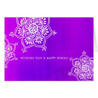 Mystical Diwali Greetings Card