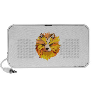 Mystical Dog iPhone Speakers