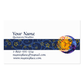 Mystical Double-Sided Standard Business Cards (Pack Of 100)