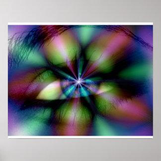 Mystical Eye -  Poster