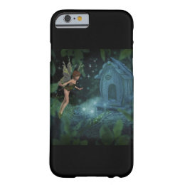 Mystical Fairy and Fairy House Art Phone Case