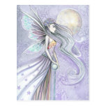 Mystical Fairy Postcard by Molly Harrison