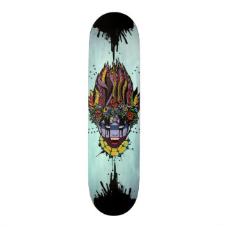Mystical Feg the Vampire Priestess Skateboard