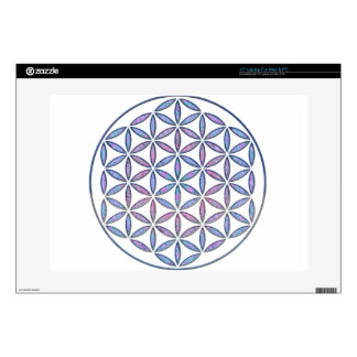 Mystical Flower of Life Decals For Laptops