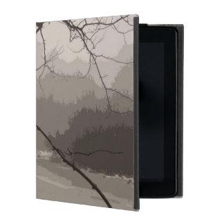 Mystical Fog over Swamp iPad 2/3/4 case