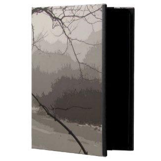Mystical Fog over Swamp iPad Air case