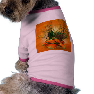 Mystical foliage with bamboo, buttercup and a shru pet tee