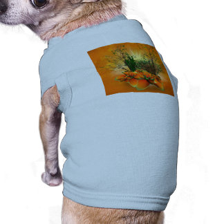 Mystical foliage with bamboo, buttercup and a shru dog tshirt