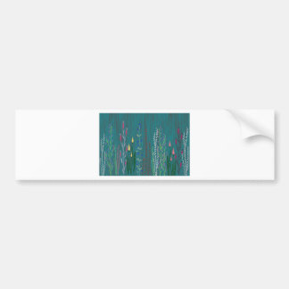 Mystical garden bumper sticker