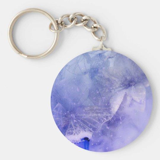 """Mystical Garden - Butterflies in Blue"" collection Keychain"