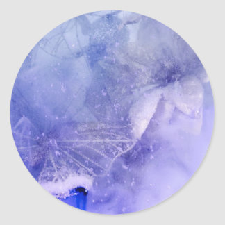 """Mystical Garden - Butterflies in Blue"" collection Sticker"