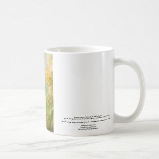 """Mystical Garden - Golden Butterflies"" collection Classic White Coffee Mug"