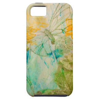 """Mystical Garden - Golden Butterflies"" collection iPhone SE/5/5s Case"