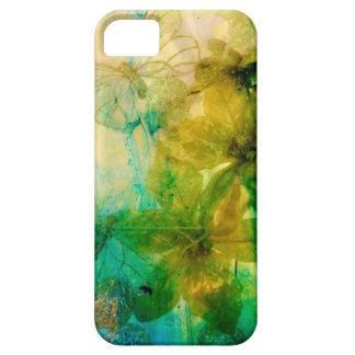 """Mystical Garden - Rays of Gold"" original Lyrical iPhone SE/5/5s Case"