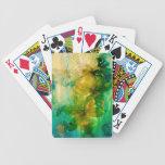 """Mystical Garden - Rays of Gold"" original Lyrical Bicycle Card Deck"