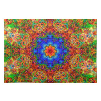 Mystical Glow of the Sailing Wind Cloth Place Mat