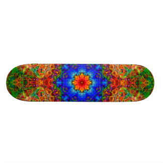Mystical Glow of the Sailing Wind Skateboard