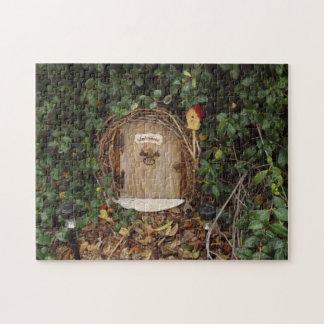 Mystical Gnome Garden Door Puzzle