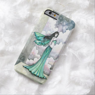 Mystical Green Fairy Fantasy Art Barely There iPhone 6 Case