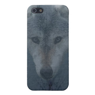 Mystical Grey Wolf Wildlife Art iPhone Case iPhone 5 Cases