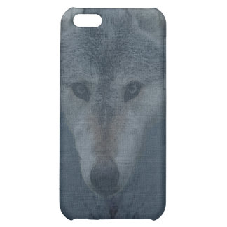 Mystical Grey Wolf Wildlife Art iPhone Case iPhone 5C Cover