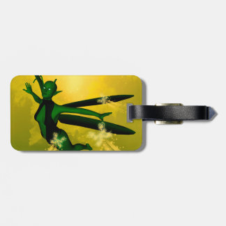 Mystical insects woman bag tags