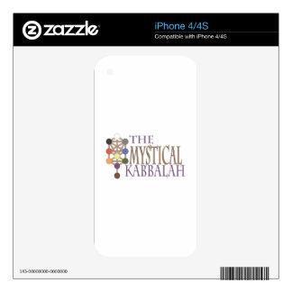 Mystical Kabbalah Decal For iPhone 4