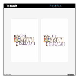 Mystical Kabbalah Kindle Fire Decal