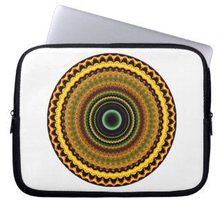 Mystical Kaleidoscope Design 12 Laptop Sleeve