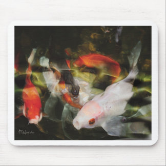 Mystical Koi by Artist McKenzie Mouse Pad