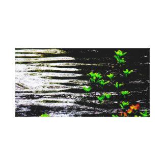 Mystical Lagoon Fine Art Canvas Print