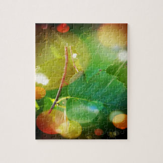 Mystical Leaves 8x10 Photo Puzzle with Gift Box