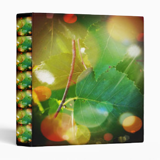 """Mystical Leaves Themed Avery Signature 1"""" Binder"""