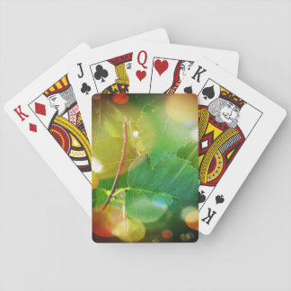 Mystical LeavesPlaying Cards, Standard Index faces Playing Cards