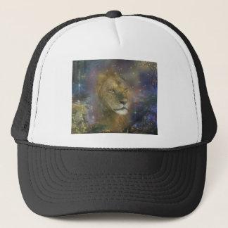 Mystical Lion in the Moonlight Trucker Hat