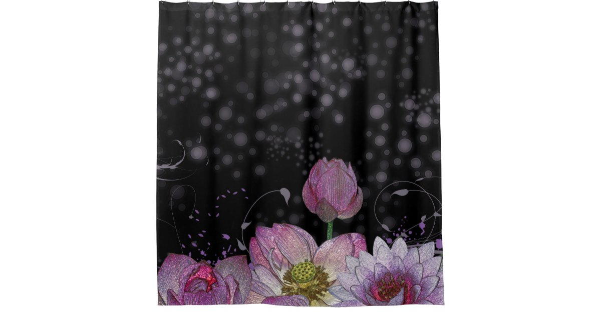 Mystical Lotus Shower Curtain