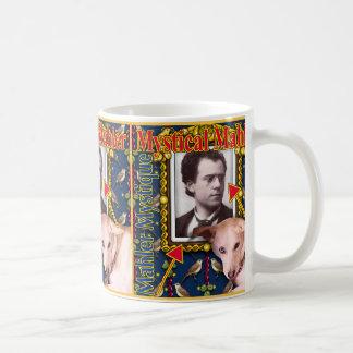 Mystical Mahler Classic White Coffee Mug