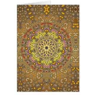 Mystical Mandala 001 - Multiple Products Greeting Card