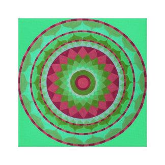 Mystical Mandala Canvas Print
