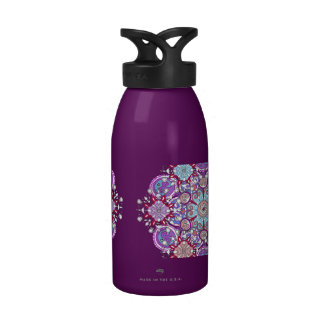 Mystical Mandala Water Bottle Reusable Water Bottles