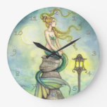 Mystical Mermaid Fantasy Art by Molly Harrison Wallclocks