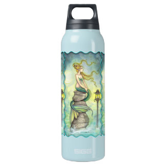 Mystical Mermaid Fantasy Art by Molly Harrison Insulated Water Bottle